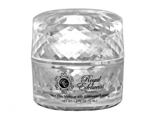ROYAL EDELWEISS PLATINUM MINT CLAY MASK W/ EDELWEISS EXTRACT (1.8OZ)