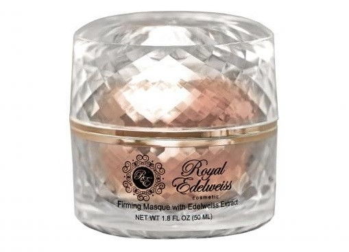 ROYAL EDELWEISS ROSE GOLD FIRMING MASK W/ EDELWEISS FLOWER EXTRACT  (1.8OZ)